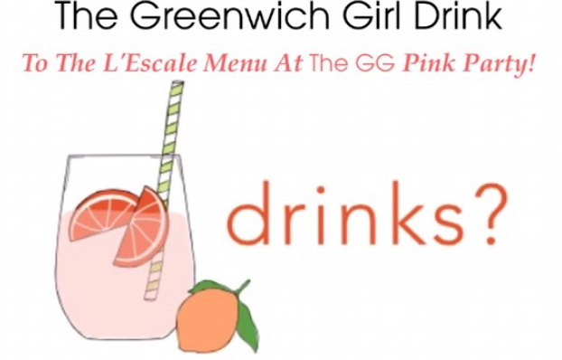 Join GG! 5/26 To Debut The GG Cocktail On The L'Escale Menu!