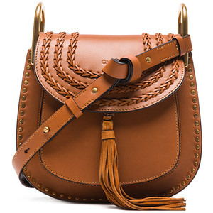 Caramel Small Hudson Shoulder Bag