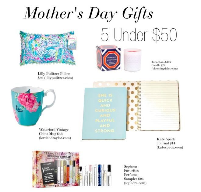 5 Gifts Under 50 For Mother 39 S Day Greenwich Girl