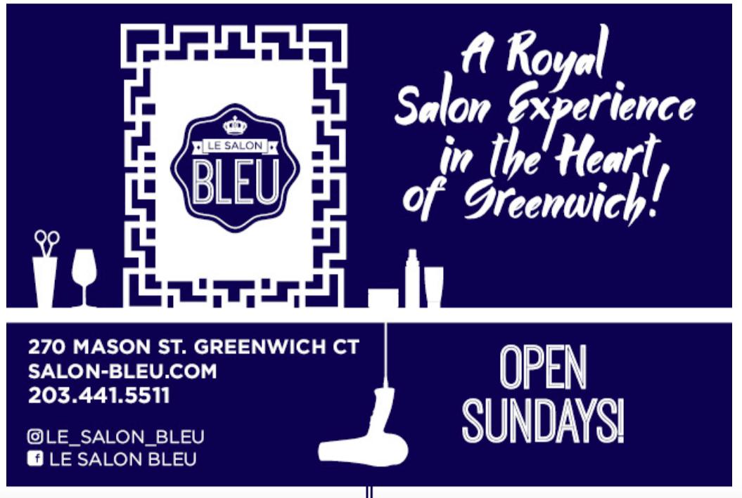 Le Salon Bleu- Anniversary Specials