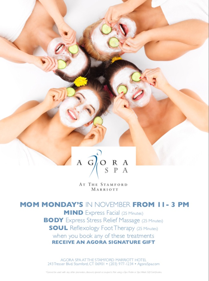 Mom Mondays At AGORA SPA For All Of November!