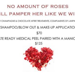 No Amount of roses will pamper her like we will