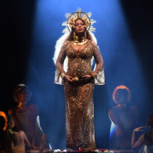 LOS ANGELES, CA - FEBRUARY 12:  Recording artist Beyonce performs onstage during The 59th GRAMMY Awards at STAPLES Center on February 12, 2017 in Los Angeles, California.  (Photo by Kevin Winter/Getty Images for NARAS)