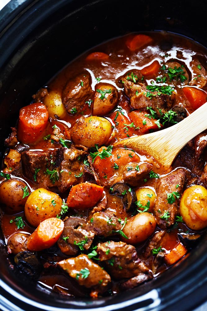 In The Kitchen w GG: beef bourguignon worth making