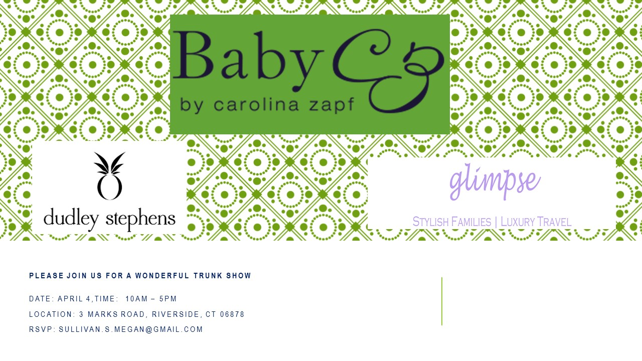 Baby CZ Trunk Show