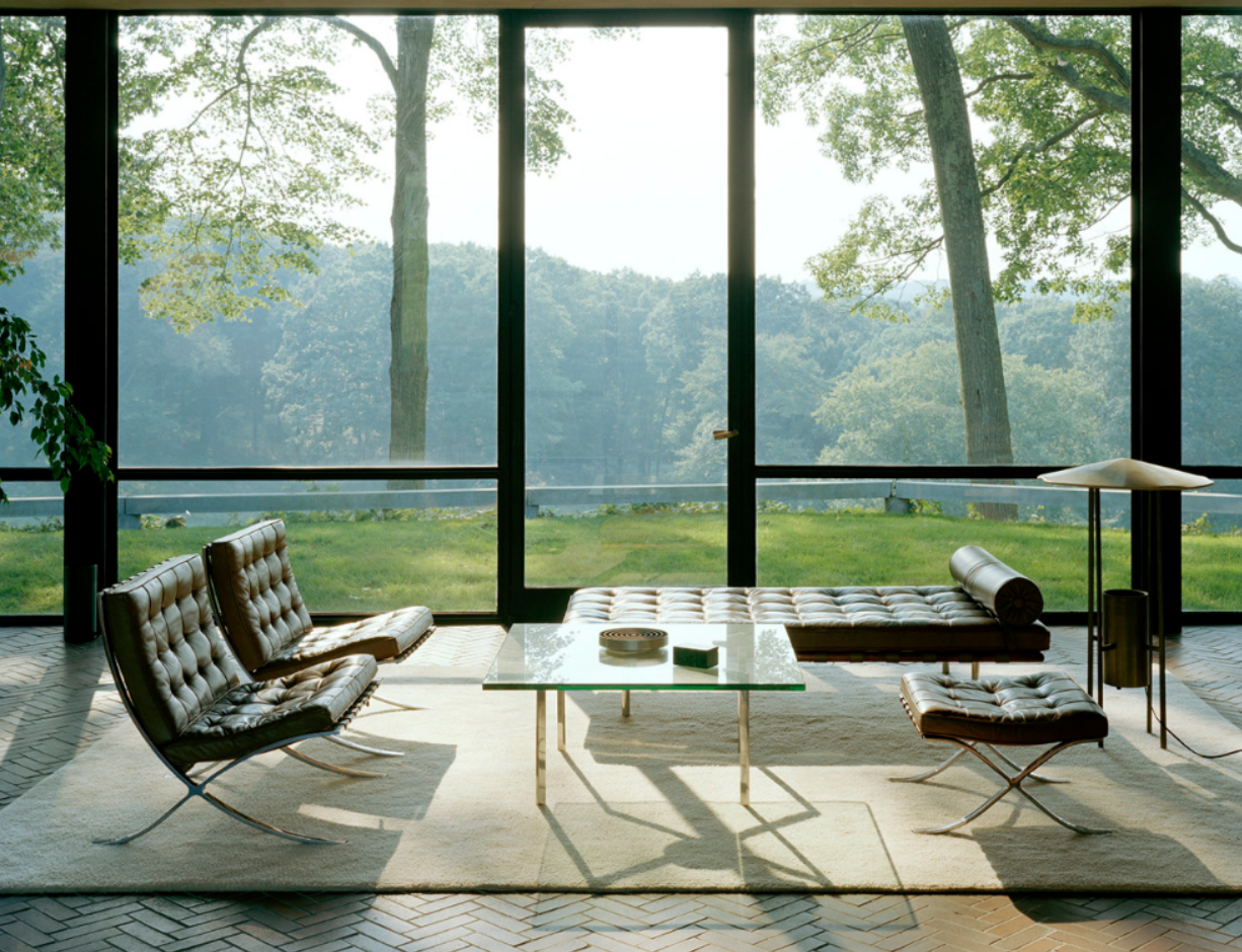 Glass House New Canaan