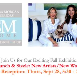 Wine Reception with Sandra Morgan Interiors: Thurs, Sept 28, 5:30 – 7:30