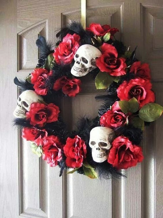 day dead wreath