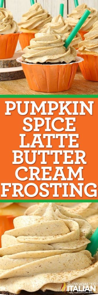 pumpkin spice latte buttercream