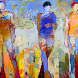 """Love art? Check out the latest at Canfin Gallery: Exhibit Jylian GUSTILY, """"New Works"""""""