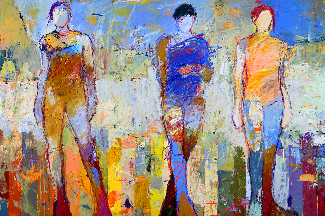 "Love art? Check out the latest at Canfin Gallery: Exhibit Jylian GUSTILY, ""New Works"""