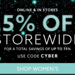CYBER MONDAY: Extra 25% OFF storewide and more at Lord & Taylor!