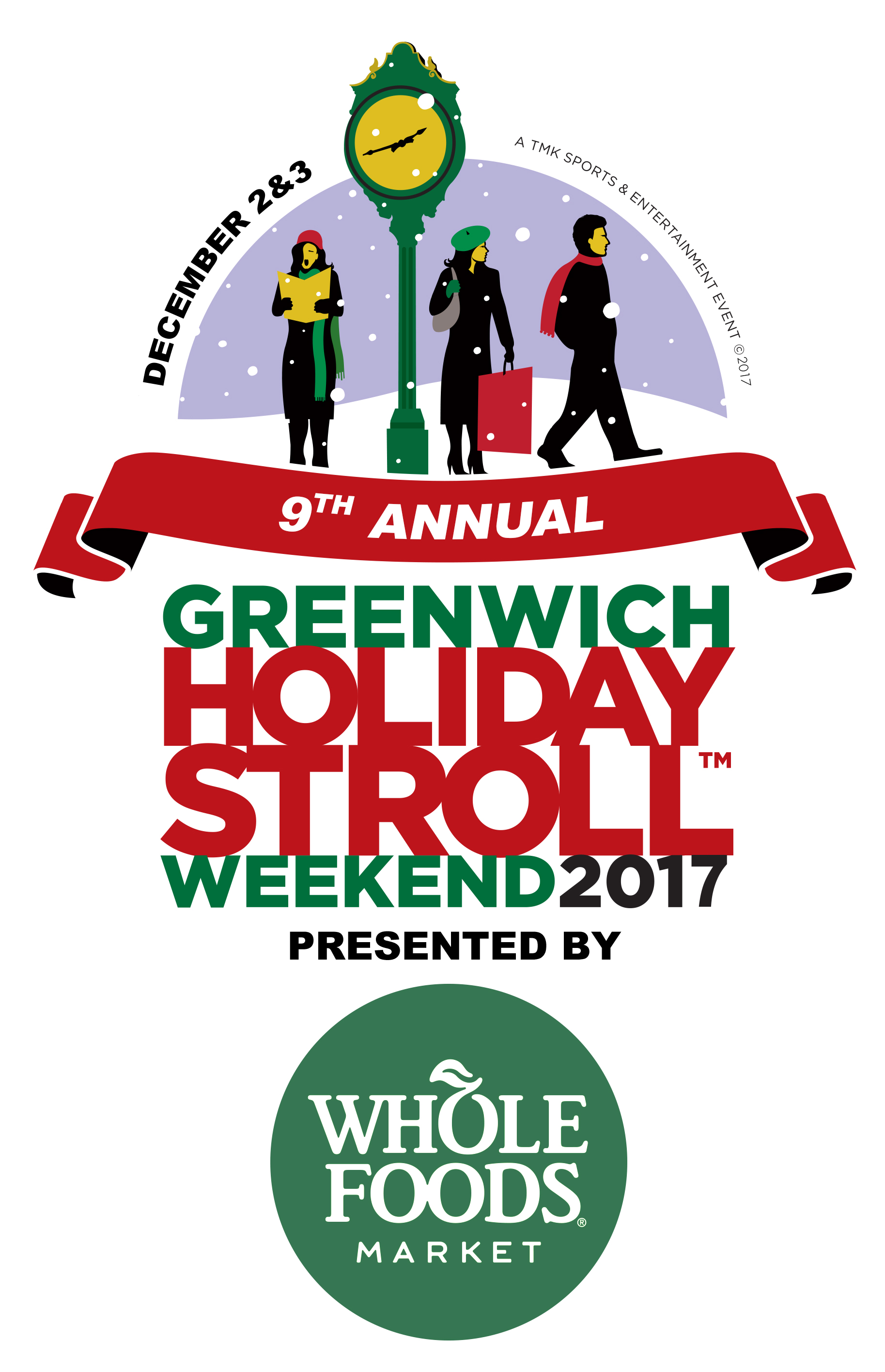 9th Annual Greenwich Holiday Stroll Weekend 2017