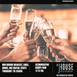 Celebrate Your Holidays at Jhouse!