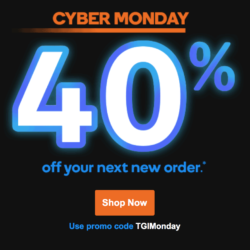 40% off — Plug into Cyber Monday savings at GoDaddy!