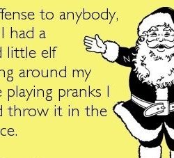 Why you should DODGE The Elf on the mother ______ shelf ENTIRELY.