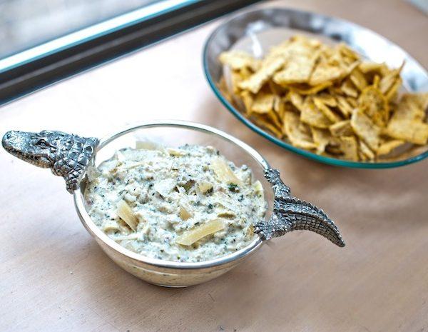 Kale + Artichoke Dip
