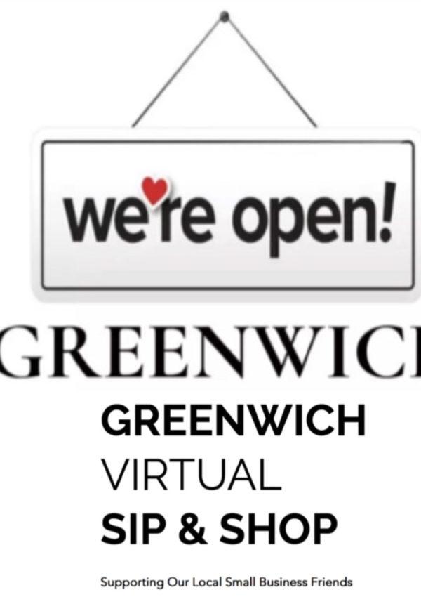 Greenwich Sip & Shop *online!*