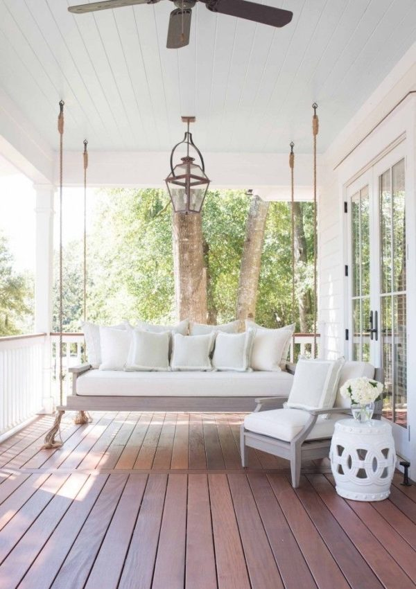 The Front Porch Swing Is No Longer Just A Childhood Thing